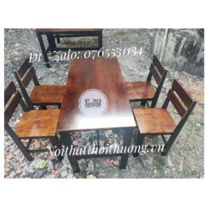 bàn ghế quán bún